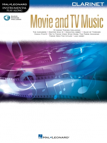 Instrumental Play-along: Movie And TV Music Clarinet: Book & Audio
