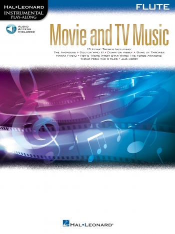 Instrumental Play-Along: Movie And TV Music: Flute Book With Audio-Online
