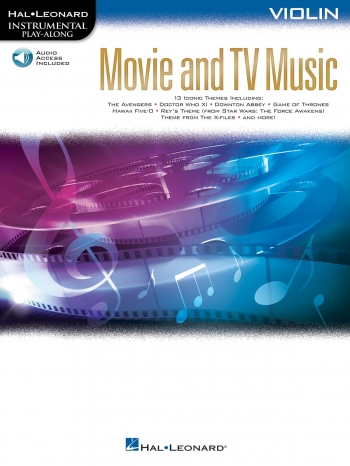 Instrumental Play-Along: Movie And TV Music: Violin Book With Audio-Online