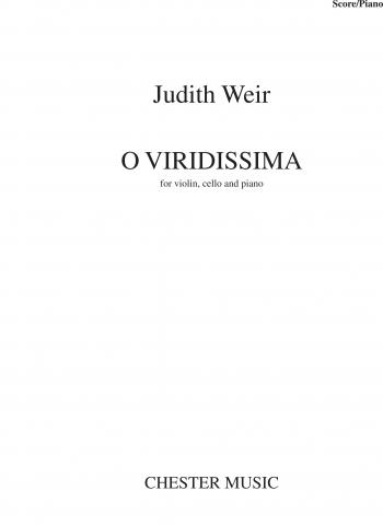 O Viridissima: Violin, Cello & Piano: Score & Parts
