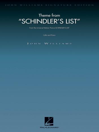 Schindlers List: Cello & Piano (williams)