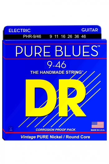 DR Strings Pure Blues Electric Heavy