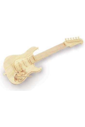 Woodcraft Construction Kit - Guitar