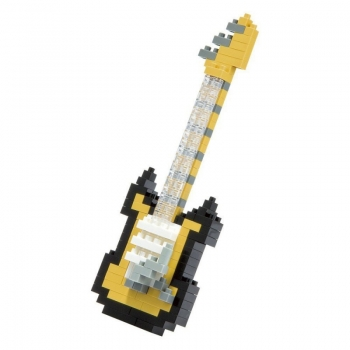 Nanoblock Electric Black Guitar