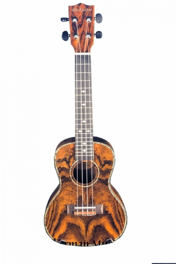 Blackwater Concert Ukulele - Butterfly Wood (With Bag)