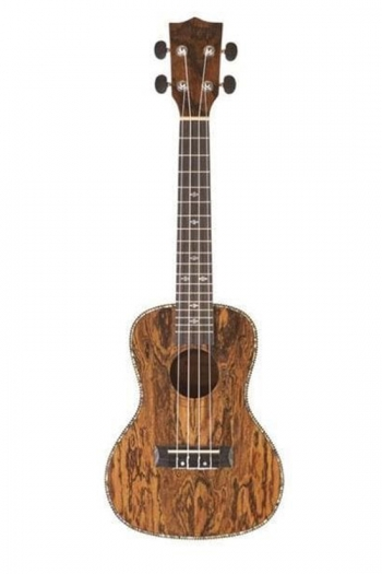 Blackwater Concert Ukulele: Gloss Butterfly Wood (With Bag)