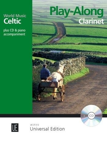 World Music Celtic - Play Along Clarinet Book & MP3-cd