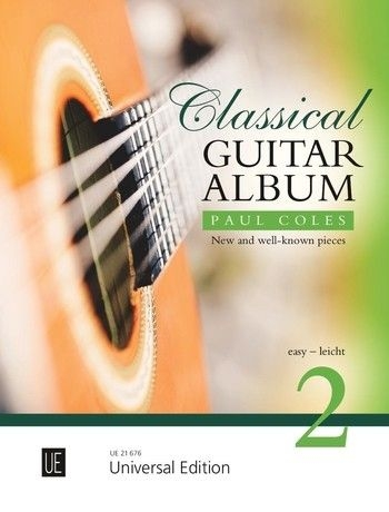 Classical Guitar Album 2 For Guitar: Easy (Paul Coles)