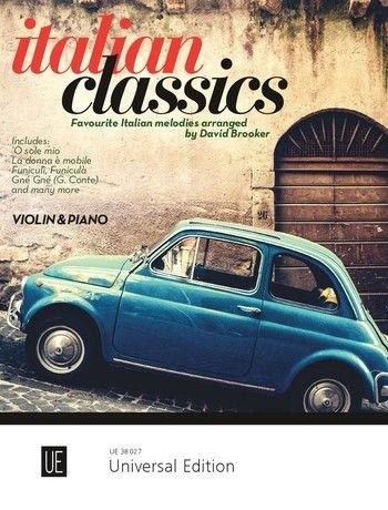 Italian Classics For Violin And Piano  (By David Brooker)