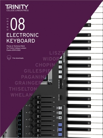 Trinity College London Electronic Keyboard Exam Grade 8: 2019-2022