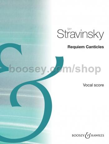 Requiem Canticles Vocal Score