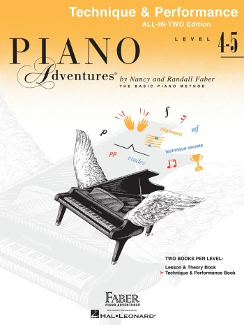 Piano Adventures: Technique And Performance Book Level 4-5