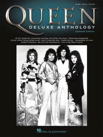 Queen: Deluxe Anthology Piano Vocal Guitar