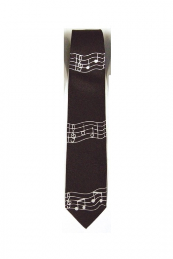 Tie Wavy Music Notes (Polyester)