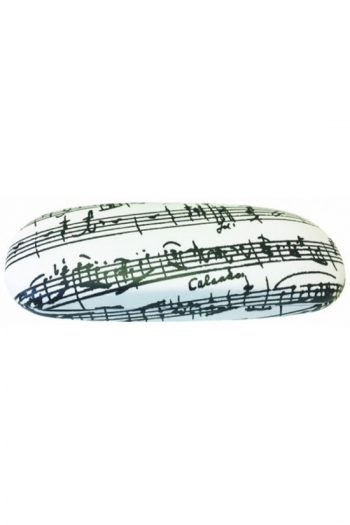 Glasses Case  White Manuscript