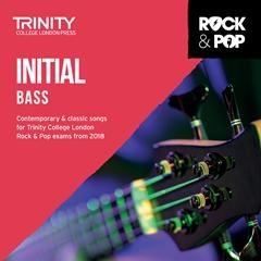 Trinity Rock & Pop 2018 Bass Guitar Grade Initial Cd Only