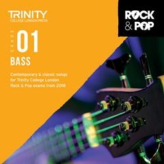 Trinity Rock & Pop 2018 Bass Guitar Grade 1 Cd Only