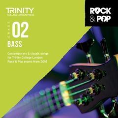 Trinity Rock & Pop 2018 Bass Guitar Grade 2 Cd Only