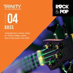 Trinity Rock & Pop 2018 Bass Guitar Grade 4 Cd Only