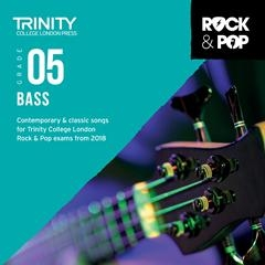 Trinity Rock & Pop 2018 Bass Guitar Grade 5 Cd Only