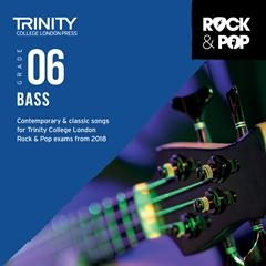 Trinity Rock & Pop 2018 Bass Guitar Grade 6 Cd Only