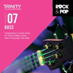 Trinity Rock & Pop 2018 Bass Guitar Grade 7 Cd Only