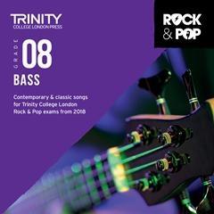 Trinity Rock & Pop 2018 Bass Guitar Grade 8 Cd Only