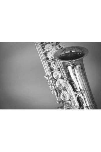 Greetings Cards Saxophone (Blank Inside)