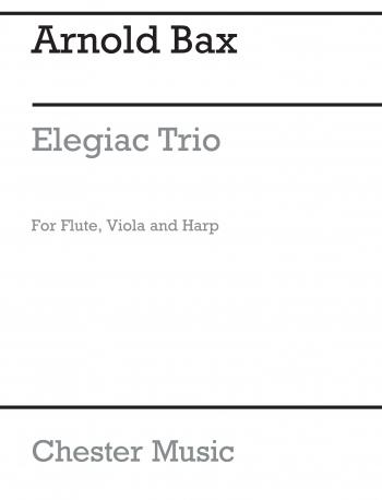Elegiac: Trio: Flute Viola & Harp