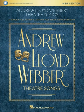 Lloyd Webber: Theatre Songs - Mens Edition (Book/Online Audio)