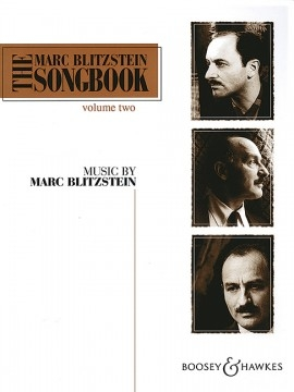 The Marc Blitzstein Songbook Vol.2: Voice & Piano English