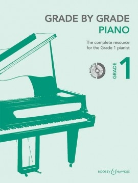 Grade By Grade Piano: Grade 1: Book & Cd