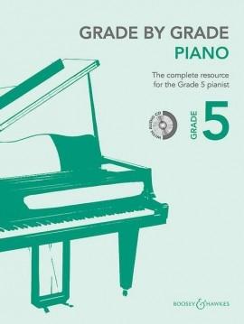 Grade By Grade Piano: Grade 5: Book & Cd