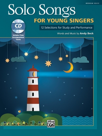 Solo Songs For Young Singers: Medium High For Solo Voice & Piano: Book & Cd