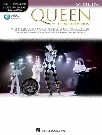 Instrumental Play-Along: Queen - Violin (Book/Online Audio)