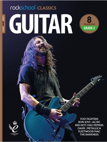 Rockschool Classics: Guitar Grade 2 2018+ (Book/Audio)