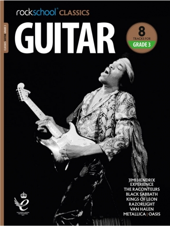 Rockschool Classics: Guitar Grade 3 2018+ (Book/Audio)