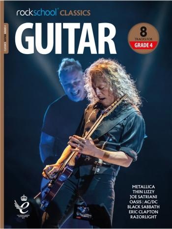 Rockschool Classics: Guitar Grade 4 2018+ (Book/Audio)