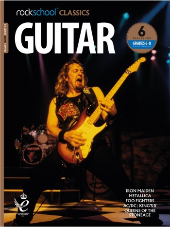 Rockschool Classics: Guitar Grade 6-8 2018+ (Book/Audio)