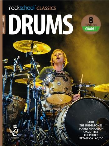 Rockschool Classics: Drums Grade 1 2018+ (Book/Audio)