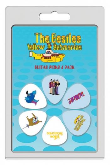 Plectrum 6 Pack - The Beatles Yellow Submarine