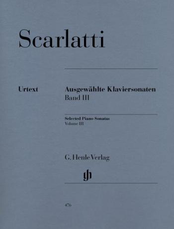 Selected Piano Sonatas, Volume 3 (Henle)