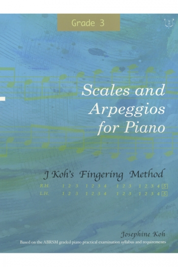 Koh: Scales And Arpeggios For Piano - Fingering Method (Grade 3)
