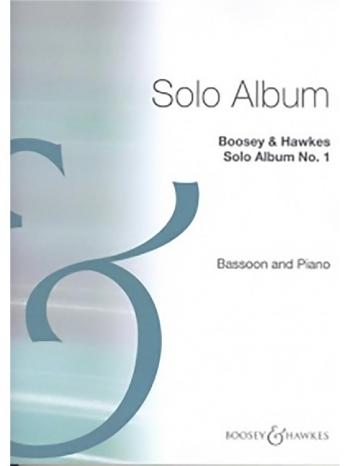 Solo Album No. 1: Bassoon & Piano (B&H)
