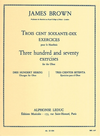 370 Exercices For The Oboe (Leduc)