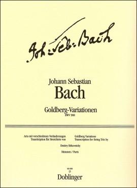 Goldberg-Variationen String Trio Set Of Parts