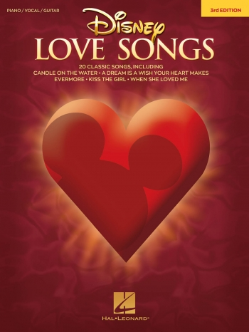 Disney Love Songs: 3rd Edition Piano Vocal Guitar
