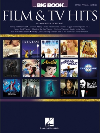 Big Book Of Film & TV Hits: Piano Vocal & Guitar