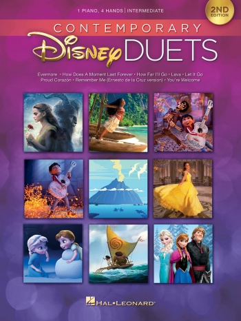 Contemporary Disney Duets: PIano Duet 2nd Edition
