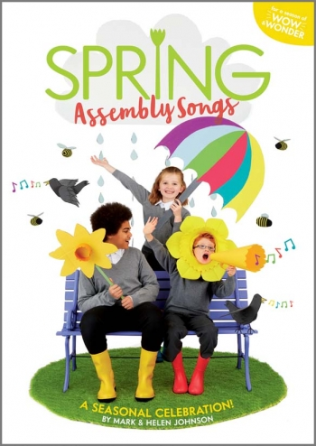 Spring Assembly Songs Book & Cd